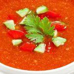 طرز تهیه سوپ اسپانیائی