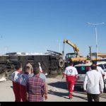 جزئیات واژگونی مرگبار اتوبوس حاملان سربازان در استان یزد/ 5 سرباز جان باختند + تصاویر و فیلم
