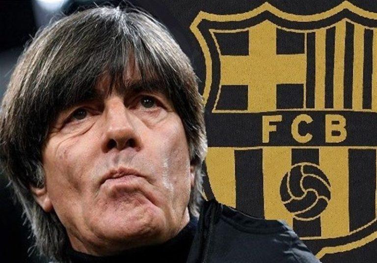 بارسلونا در ماه مارس با یواخیم لو تماس گرفته بود