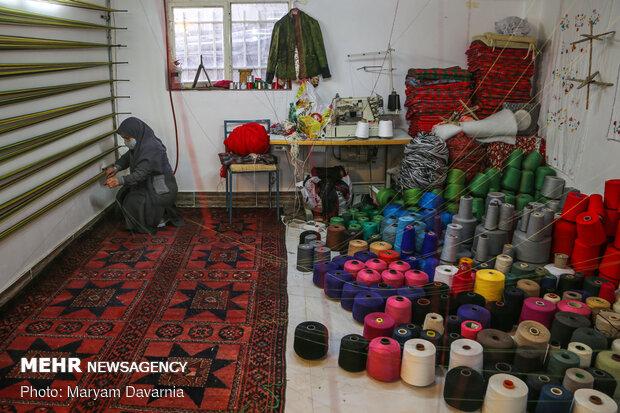 برگزاری نمایشگاه محصولات زنان کارآفرین در مجموعه شهدای خلیج فارس