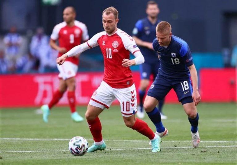 یورو 2020| شوک ترسناک، بازی دانمارک – فنلاند را ناتمام گذاشت/ اریکسن در آستانه مرگ! + عکس