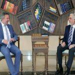دیدار عبدالله عبدالله با نماینده ویژه آلمان در امور افغانستان