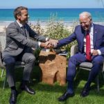 ماکرون: آمریکا با ریاست جمهوری بایدن به مقام رهبری جهان بازگشت!