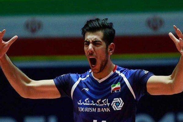 کریمی جایگزین شفیعی در ترکیب تیم ملی والیبال ایران شد