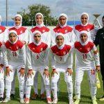 سقوط 7 پلهای تیم ملی بانوان ایران در ردهبندی فیفا