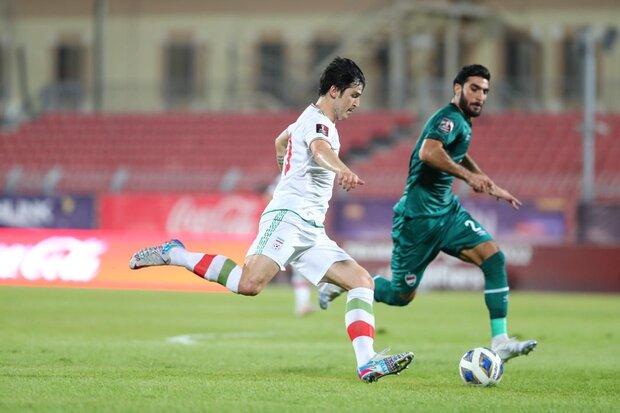 دو بازی مهم را بردیم/ خیلی خوشحالم دل مردم ایران را شاد کردم