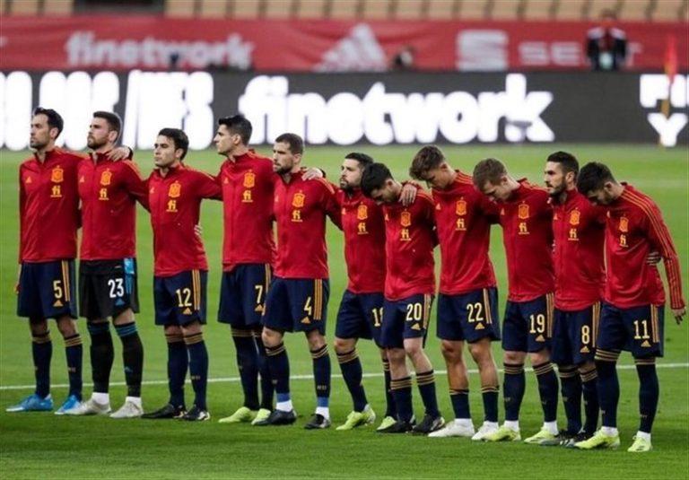 یورو 2020| اعضای تیم ملی اسپانیا واکسینه میشوند