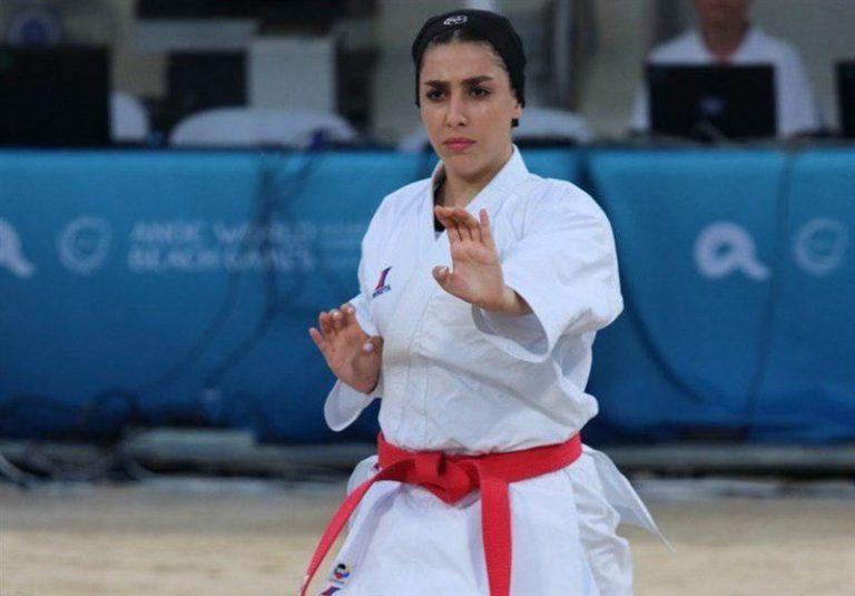 کاراته گزینشی المپیک|صادقی از کسب سهمیه المپیک باز ماند