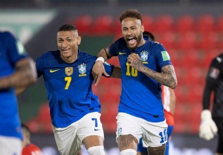 انتخابی جام جهانی 2022| پیروزی برزیل مقابل پاراگوئه با گلزنی نیمار/ مسی و یارانش متوقف شدند