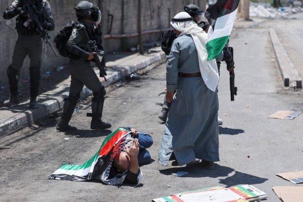 درگیری نظامیان اسرائیلی با فلسطینیان/ ۴۷ فلسطینی زخمی شدند