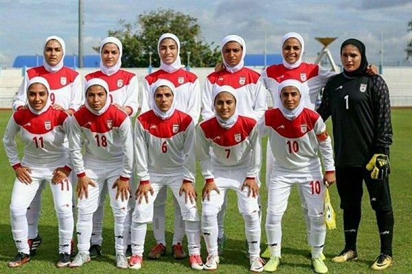 تیم ملی فوتبال بانوان امروز به مصاف بلاروس میرود