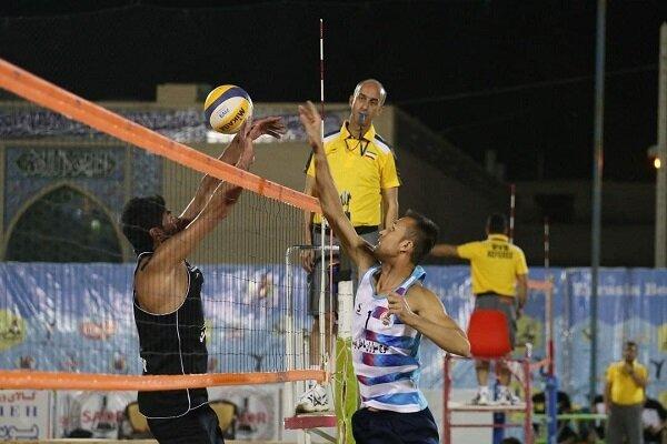 برگزاری مسابقات والیبال ساحلی قهرمانی خراسان شمالی