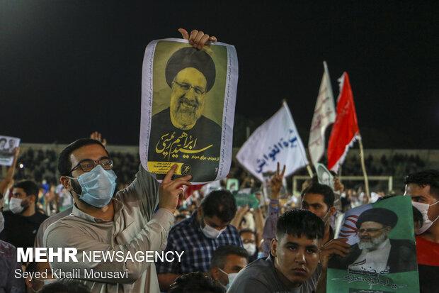 تجمع انتخاباتی سید ابراهیم رئیسی در اهواز تخلف قانونی بود؟