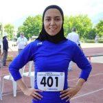 قهرمانی فرزانه فصیحی در رقابتهای بینالمللی دو و میدانی ترکیه