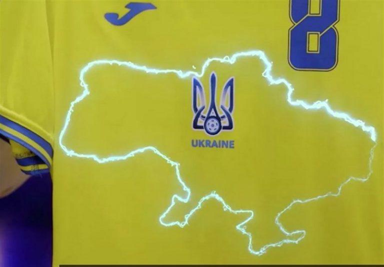 یورو 2020  اقدام معنادار اعضای سفارت آمریکا در اوکراین با پوشیدن پیراهنهای جنجالی