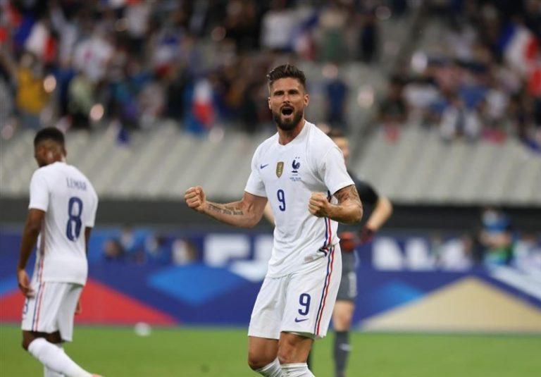 بازیهای دوستانه ملی| پیروزی فرانسه مقابل بلغارستان با گلهای ژیرو/ تساوی لهستان و ایسلند