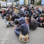 اجرای طرح جمع آوری دوره ای معتادین متجاهر در منطقه ۱۹