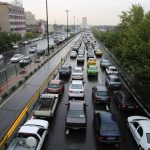 ترافیک سنگین در اکثر معابر شهر تهران