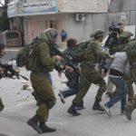 مجروح شدن ۳۷ فلسطینی به دست نظامیان صهیونیست در کرانه باختری