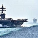 تعقیب ناو نظامی آمریکا توسط ارتش روسیه در دریای سیاه