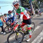 قهرمانی ماندانا دهقان در مسابقات دوچرخهسواری تایم تریل بانوان کشور