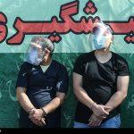 بازداشت سارقان حین برش کابلهای فشار قوی برق!