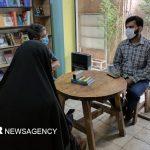 تلاش هنرمندانه به یاد شهیده مدافع سلامت شیراز
