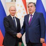 گفتگوی پوتین و امام علی رحمان درباره اوضاع دشوار در مرز تاجیکستان