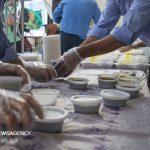 طبخ و توزیع ۵۰۰۰ پرس غذای گرم به مناسبت عید غدیر در گرمی