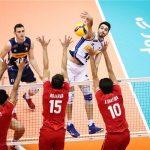 نبرد سخت تیمهای والیبال ایران و ایتالیا/ تلاش برای صعود