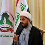 قیس الخزعلی: نمایندگان پارلمان عراق الکاظمی را استیضاح کنند