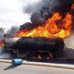 انفجار یک تانکر سوخت در غرب کنیا/ ۱۳ تن کشته شدند