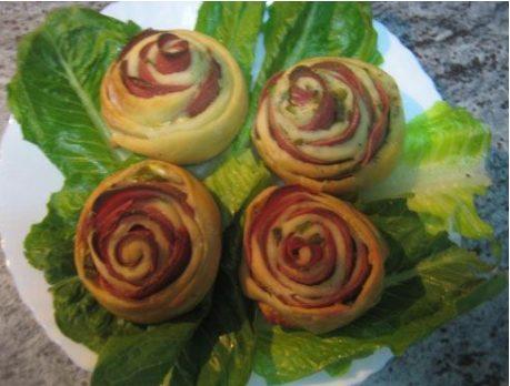 تزئین فینگر فود - ایده هایی جذاب برای تزئین انواع خوراکی ها به شکل گل و دسته گل
