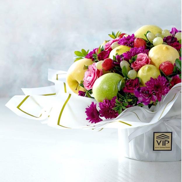تزئیین خوراکی به شکل گل - ایده هایی جذاب برای تزئین انواع خوراکی ها به شکل گل و دسته گل