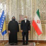 دیدار وزرای خارجه ایران و بوسنی و هرزگوین
