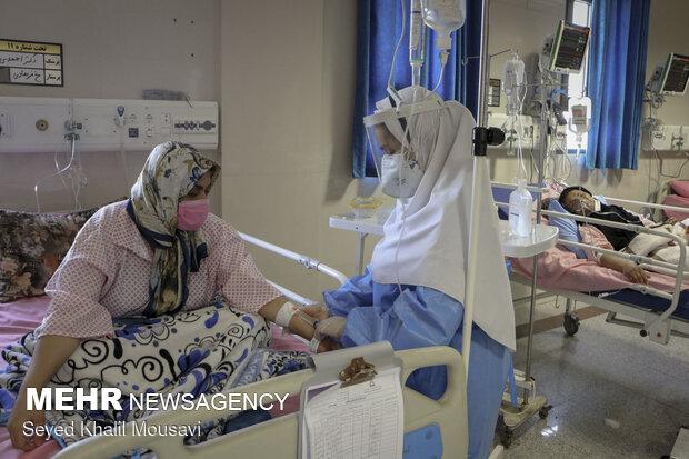 ظرفیت تختهای «آی سی یو» کرونا در بیمارستان امام اهواز تکمیل شد