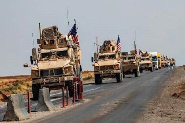 کاروان لجستیک نظامیان آمریکا در «دیوانیه» عراق هدف قرار گرفت