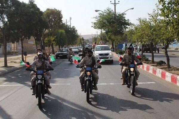 راهاندازی یگان موتوری امداد سلامت بسیج در محلات یزد