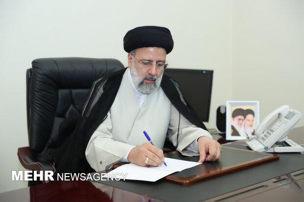 رئیسی درگذشت مادر شهیدان والامقام میرمحکم را تسلیت گفت