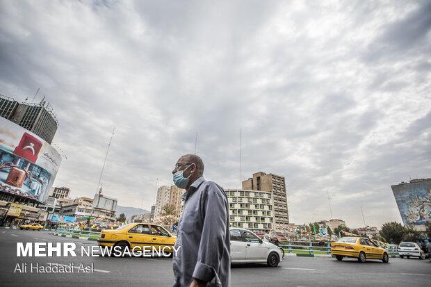 غلظت یافتن ذرات معلق هوای پایتخت را وارد شرایط نامطلوب کردند