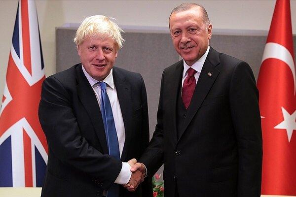 اردوغان و جانسون درباره افغانستان گفتگو کردند