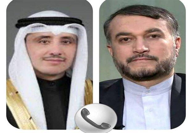 وزیر خارجه کویت انتخاب امیرعبداللهیان را تبریک گفت
