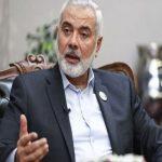 انتخاب مجدد اسماعیل هنیه به عنوان رئیس دفتر سیاسی حماس
