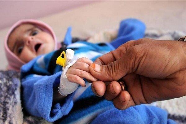 در هر ساعت؛ ۶ کودک یمنی بخاطر نتایج جنگ جان خود را از دست می دهند