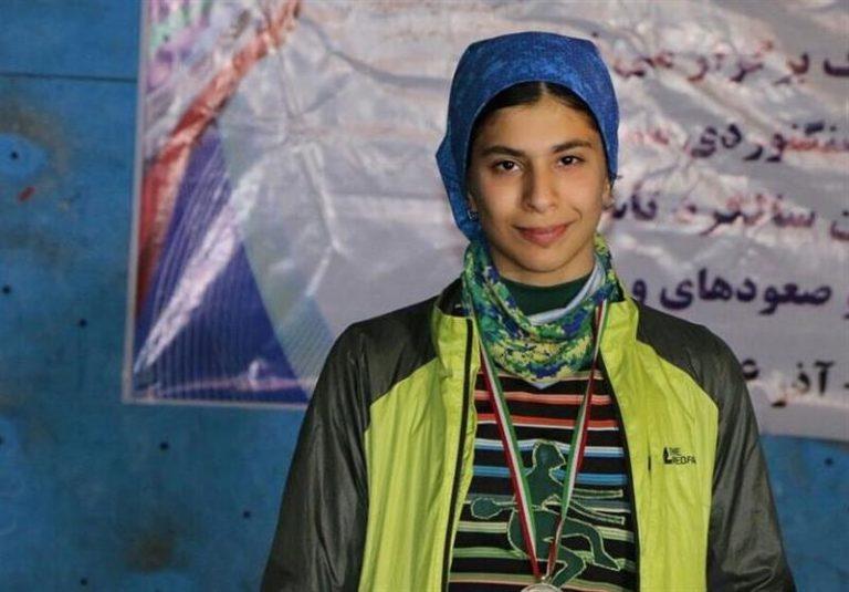 بیست و پنجمی دارابیان در مسابقات سرطناب سنگنوردی جوانان جهان
