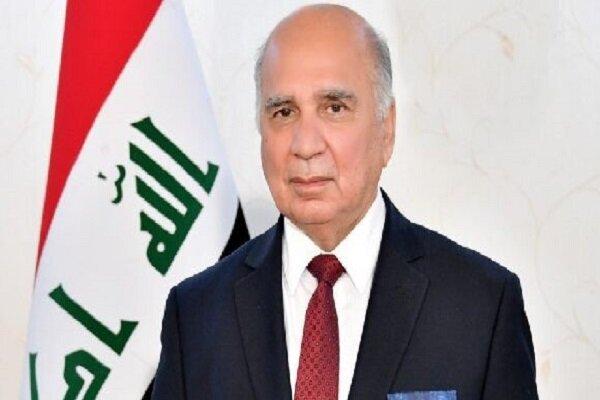 وزیر خارجه عراق وارد مسکو شد