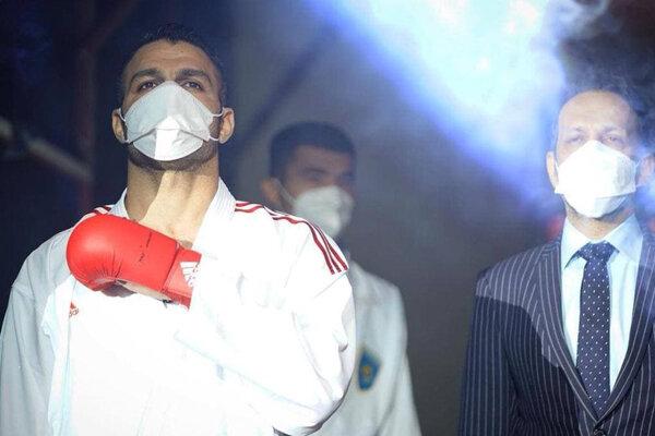 کاپیتان تیم ملی کاراته شنبه روی تاتامی لیگ جهانی مبارزه میکند