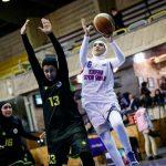 پیروزی مدعیان در لیگ برتر بسکتبال بانوان/ برتری سه رقمی گروه بهمن تهران