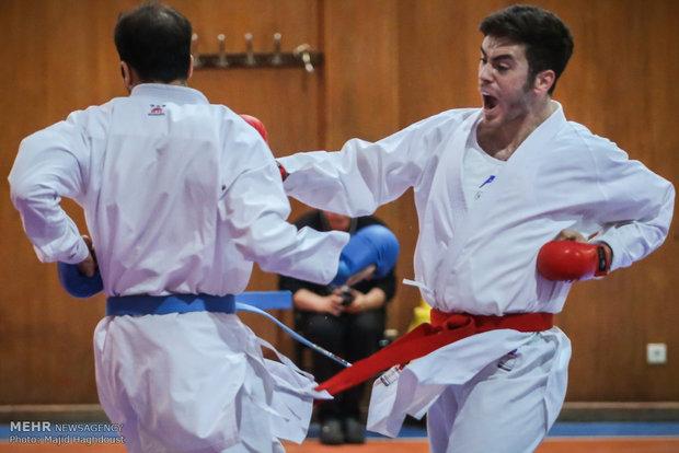 اردونشینان جهانی تیم ملی کاراته مشخص شدند