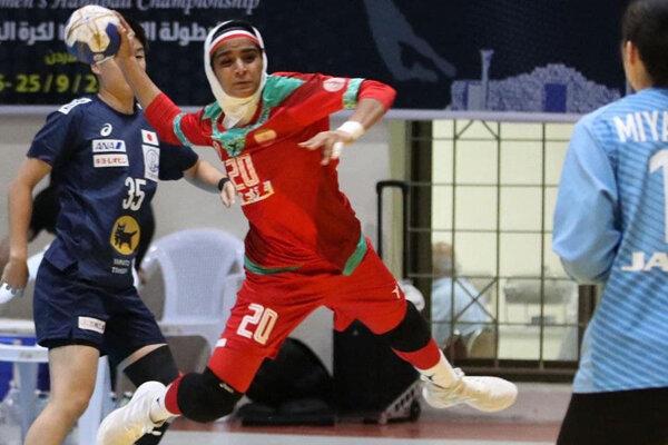 شکست نزدیک تیم هندبال زنان ایران برابر ژاپن